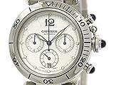 [カルティエ]Cartier【外装仕上げ済み】【CARTIER】カルティエ パシャ 38 クロノグラフ ステンレススチール 自動巻き メンズ 時計W31030H3(BF091269)[中古]