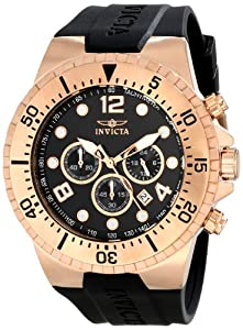 Invicta Men's 16749 SPECIALTY Analog Display Japanese Quartz Black Watch