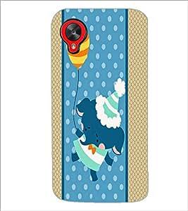 PrintDhaba Cartoon D-3363 Back Case Cover for LG GOOGLE NEXUS 5 (Multi-Coloured)