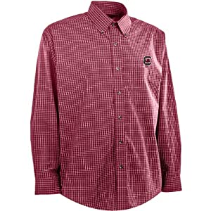 Antigua Mens South Carolina Gamecocks Esteem Cotton Polyester Box Pattern Yarn by Antigua