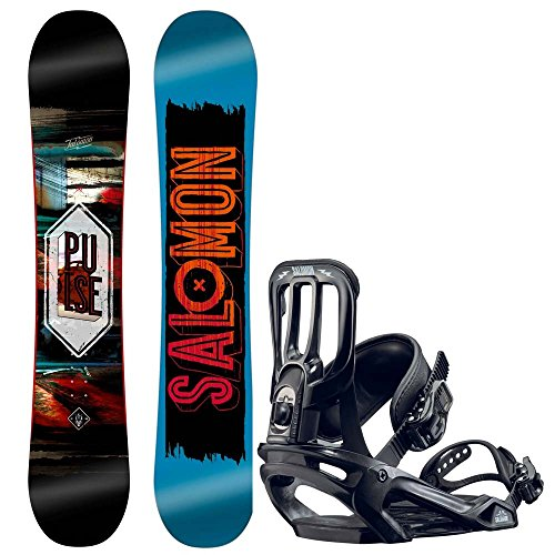 Herren Snowboard Set Salomon Pulse 160 + Pact 2017