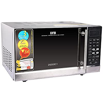 IFB 25DGSC1 25-Litre 1400-Watt Convection Microwave Oven (Black)