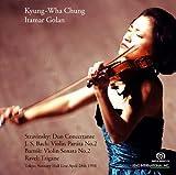 チョン・キョンファ 衝撃の東京ライヴ第2夜 ~ 1998年4月28日 (Stravinsky : Duo Concertante   J.S.Bach : Violin Partita No.2 , etc. ~ Tokyo Suntory Hall Live April 28th 1998 / Kyung-Wha Chung , Itamar Golan) [SACD]