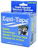 Equi-Tape Equine Kinesiology Tape Train Harder Recover Quicker Training, Blue