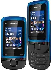 Nokia C2-05 Téléphone portable GSM/EDGE/GPRS Bluetooth Peacock Blue