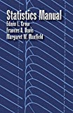 img - for By Edwin L. Crow Statistics Manual (Dover Books on Mathematics) [Paperback] book / textbook / text book