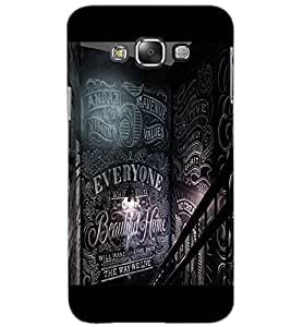 SAMSUNG GALAXY GRAND 3 EVERYONE Back Cover by PRINTSWAG