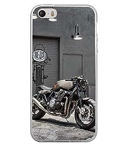 Racing Bike 2D Hard Polycarbonate Designer Back Case Cover for Apple iPhone 4