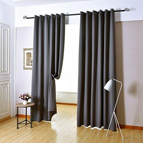 H Versailtex Blackout Room Darkening Curtains Window Panel