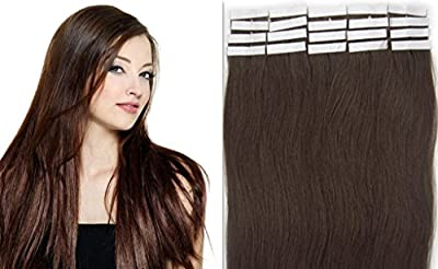 22''High Quality Loops Micro Ring Beads Tipped Remy Human Hair Extensions 100S Light Reddish Brown