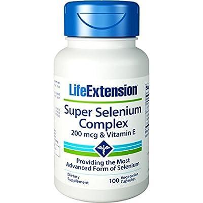 Life Extension - Super Selenium Complex & Vitamin E - 200 Mcg - 100 Vcaps