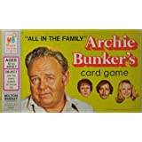 """Archie Bunkers """"All In The Family"""" Card Game"""