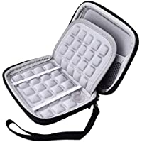 NiceEshop TM EVA Shockproof Carrying Travel Case For Portable External Hard Drive GPS Camera External Battery...