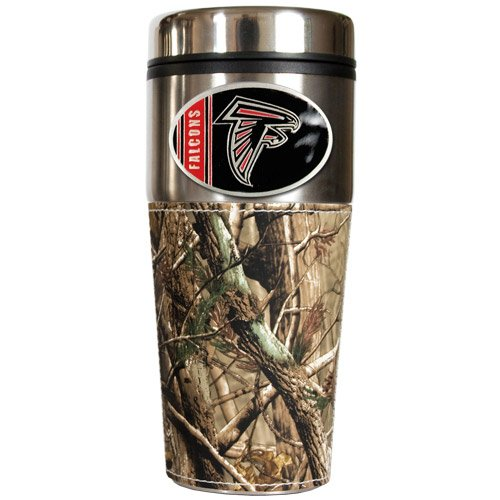 Nfl Atlanta Falcons Open Field Travel Tumbler With Wrap front-35383