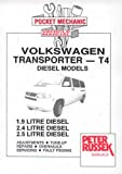 Volkswagen Transporter T4, 1.9, 2.4 and 2.5 Litre Diesel Models from 1996