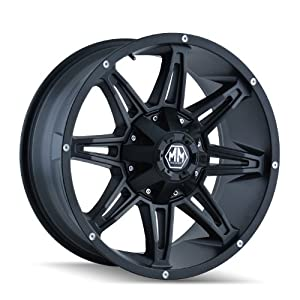 Mayhem Rampage 8090 Wheel with Matte Black Finish (17×9″/11×139.7mm)