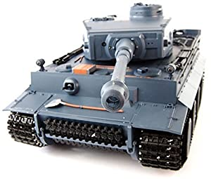 1:16 RC German Tiger I Tank Remote Control w/ Sound and Smoke