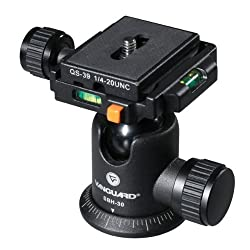 Vanguard SBH-30 Ball Head with QS-39 x 2 Quick Shoe