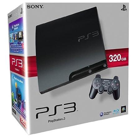 PlayStation 3 - Konsole Slim 320 GB (K-Model) inkl. Dual Shock 3 Wireless Controller