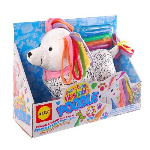 Alex Toys Alex Toys Color And Cuddle Poodle