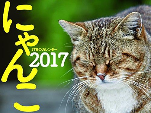JTBのカレンダー にゃんこ 2017 (諸書籍)