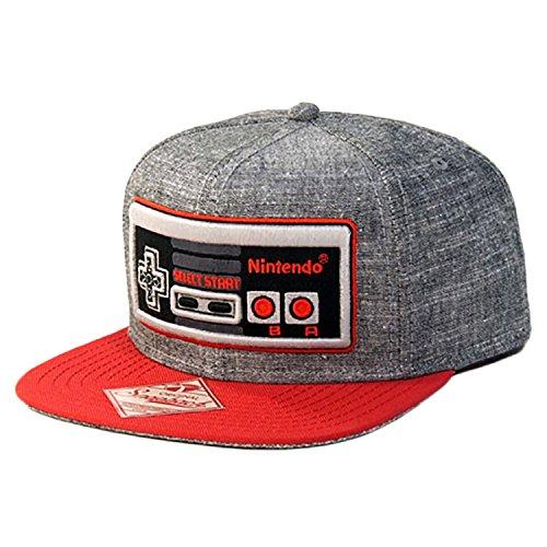 nintendo-controller-snapback-hat-black-one-size