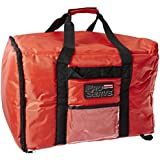 "Rubbermaid Commercial FG9F3900RED Proserve Nylon Pizza Catering Professional Delivery bag , 19-3/4"" Length x 19-3/4"" Width x 13"" Height, Red (Case of 4)"