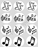 12 Music Notes rice paper fairy cup cake 40mm toppers pre cut decoration Made By Simply Topps Ltd Matching Cupcake Wraps In My Shop
