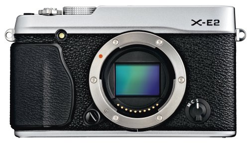 Fujifilm X-E2 16.3 MP Mirrorless Digital Camera with 3.0-Inch LCD - Body Only (Silver) (Fujifilm Xe 1 compare prices)