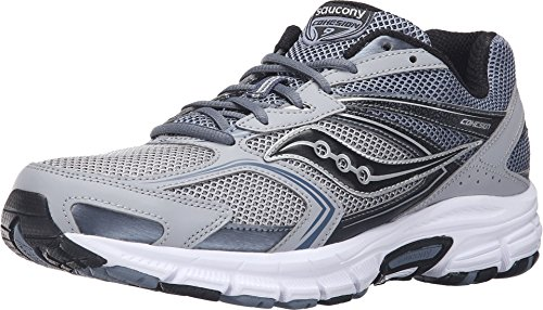 Saucony Cohesion Silver Black Sneaker