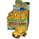 Candy Filled School Bus - 12 Count