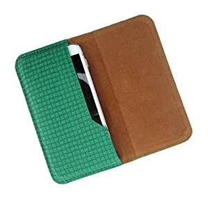 i-KitPit : PU Leather Flip Pouch Case Cover For Sony Xperia Z (GREEN)