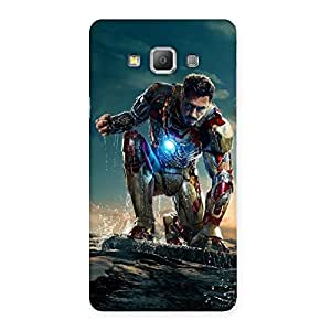 Enticing Style Genius Multicolor Back Case Cover for Galaxy A7