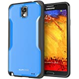 SUPCASE Samsung Galaxy Note 3/Note III Unicorn Beetle Premium Hybrid Case (Blue/Black) - Not Fit Samsung Galaxy Note 2/Note II N7100