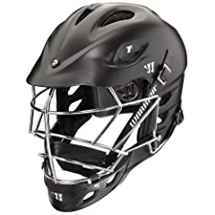 Warrior Tii Matte Helmet (One Size, Matte Black) by Warrior