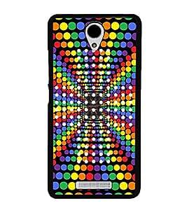Colourful Dots Pattern 2D Hard Polycarbonate Designer Back Case Cover for Xiaomi Redmi Note 2 :: Redmi Note 2 Prime