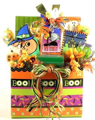 Ghosts and Goblins Halloween Gift Basket -Large