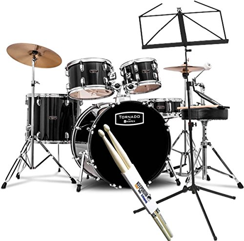 Mapex Tornado 5294FTC 1G Black Schlagzeug 22
