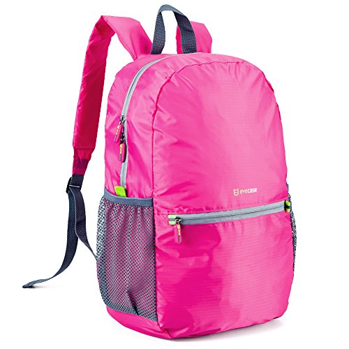faltbarer-rucksack-evecase-universal-ultra-leicht-faltbarer-rucksack-mit-wasserabweisendem-material-