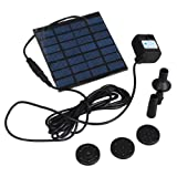 Dc Brushless Solar Panel Power Garden Fountain Pool Water Pump Kit