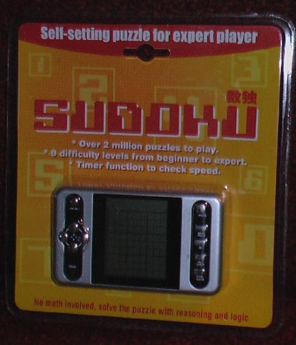 Cheap Fun Sudoku Hand-Held Electronic Game (B000RFA4QS)