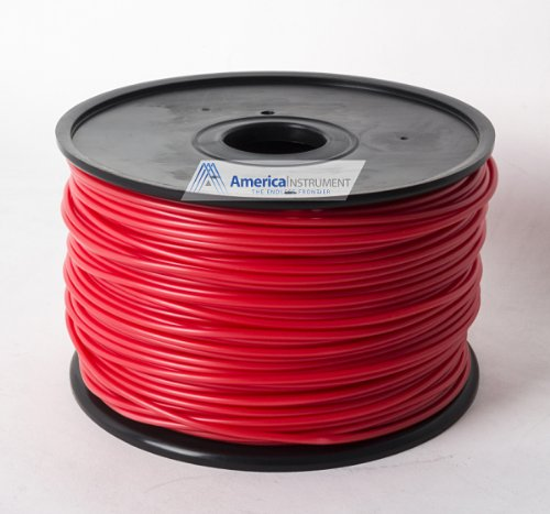 Jet - PLA (3mm, Red color, 1.0kg =2.204lbs) Filament on Spool for 3D Printer MakerBot RepRap MakerGear Ultimaker & Up!