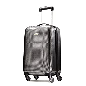 Samsonite Winfield Fashion 20 Inch Spinner Luggage, Check Black/Silver, One Size