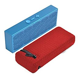 Pashion Durable Water-Resistant Lycra Zipper Lightweight & Slim Fit Designed Carrying Case Bag for MINI JAMBOX Wireless Bluetooth Speaker