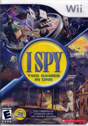 51EyYAYnrpL Cheap  I Spy Two (Wii) Games in One (Ultimate I Spy & I Spy Spooky Mansion)