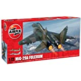 Airfix A04037 Mikoyan MiG-29 Fulcrum 1:72 Scale Series 4 Plastic Model Kit