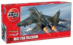 Airfix A04037 Mikoyan MiG-29 Fulcrum 1:72 Scale Series 4 Plastic Model Kit