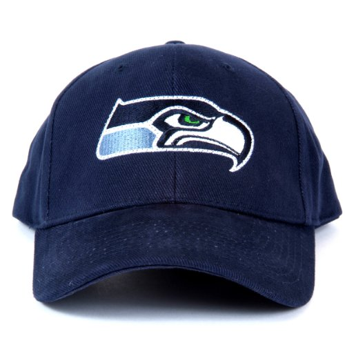 Nfl Seattle Seahawks Led Light-Up Logo Adjustable Hat