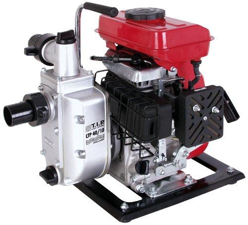 Benzinmotorpumpe Wasserpumpe Gartenpumpe LTP 40/10, bis 10.000 l/h Fördermenge