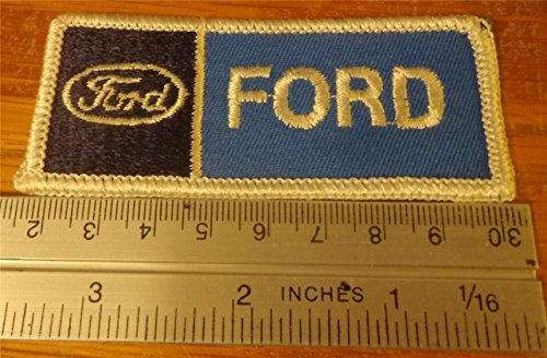 FORD Emblem Logo Embroidered Hat Jacket Iron on Patch Automotive Badge New (Automotive Iron On Patches compare prices)